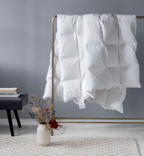"""Scandinavian GOOSE EUROPEAN TWIN Down Comforter SUMMER 55x79"""" fill power 800"""