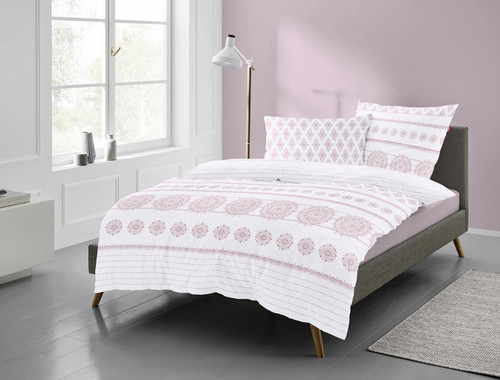 Duvet Cover Set BOHEMIAN *rose*