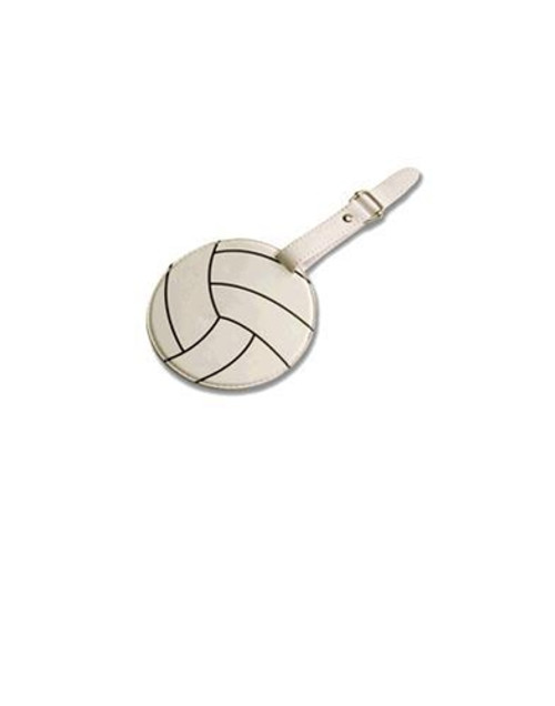 Tandem Volleyball Luggage Tag