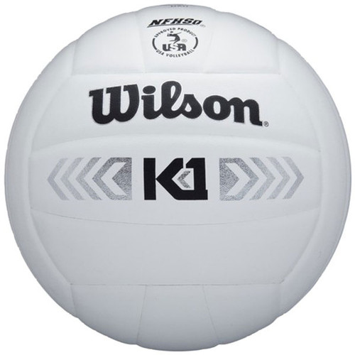 K1 SILVER VOLLEYBALL WTH1895BWID White