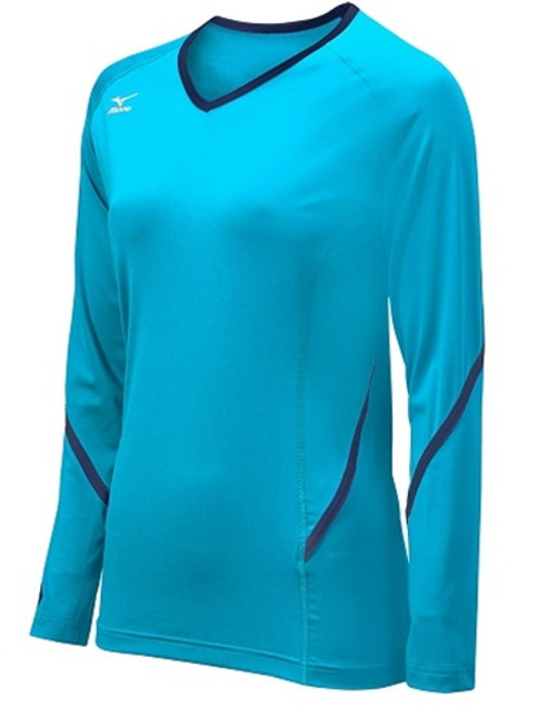 Mizuno Techno Generation Long Sleeve Volleyball Jersey, Mizuno Volleyball Jerseys, Mizuno Volleyball Uniforms, Mizuno Team apparel, Mizuno Volleyball Team Apparel, Mizuno 440399.5551, Long Sleeve Volleyball Jerseys, Womens Volleyball Jerseys, Girls Volleyball Jerseys