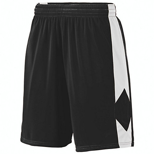Augusta Men's Block Out Short Black/White (420)