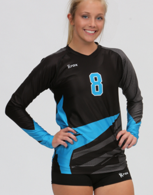 Rox Volleyball Roxamation Angle Jersey, Sublimated Volleyball Jerseys, Custom Volleyball Jerseys