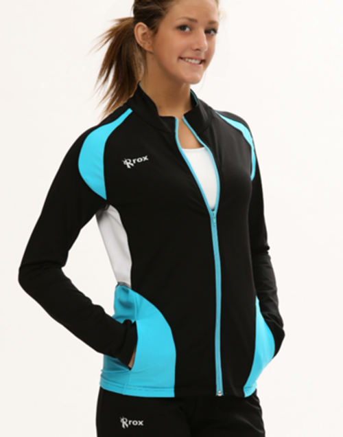 Rox Volleyball Push 1 Jacket, Volleyball Warm Up, Full Zip Jacket, Rox Volleyball 1372