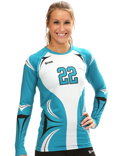 Rox Volleyball Roxamation Ace Jersey, Sublimated Volleyball Jerseys, Rox R024, Custom Volleyball Jerseys