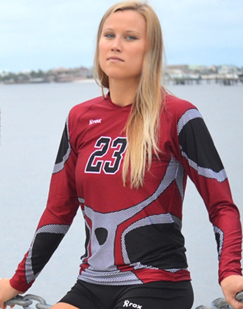 Rox Volleyball Roxamation Armor Jersey, Sublimated Volleyball Jerseys, Custom Volleyball Uniforms