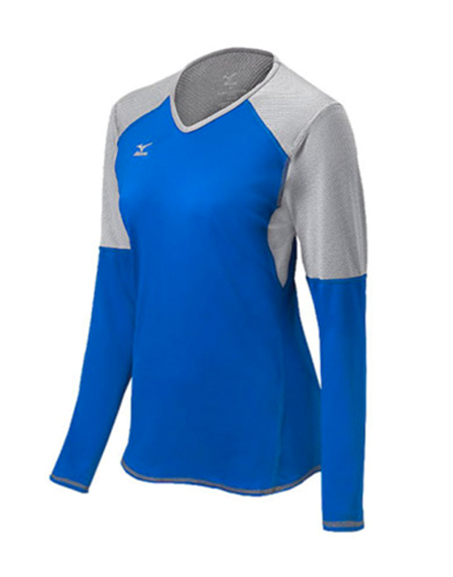 Mizuno Techno Volley VI Long Sleeve Volleyball Jersey, Mizuno Techno Volley VI Volleyball Jersey, Womens Volleyball Jerseys, Mizuno Volleyball Jerseys, Mizuno Volleyball Uniforms, Volleyball Team Uniforms,Volleyball Team Jerseys, Mizuno 440617