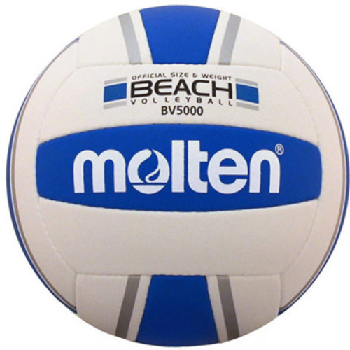 Molten BV5000-SB Elite Beach Volleyball Blue/Silver