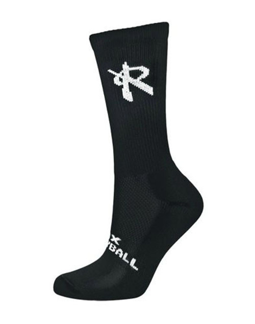 Rox Volleyball Ventilate Crew Sock, Rox Volleyball 5651