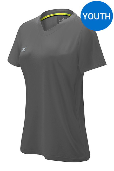 Mizuno 440585 Youth Attack Tee CHARCOAL 9292