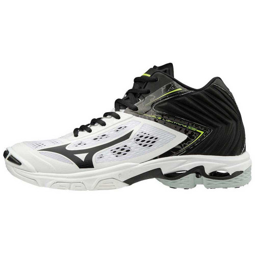 White Black Mid WAVE LIGHTNING Z5 MENS