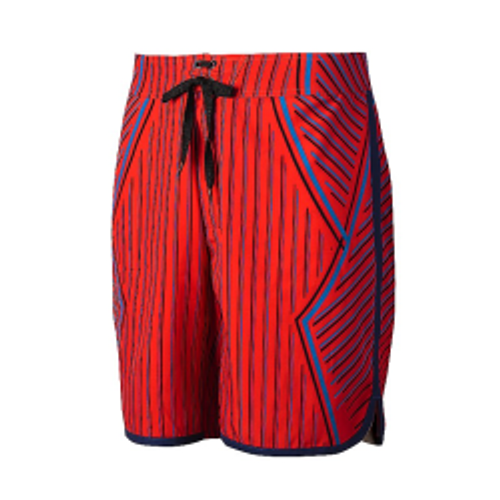 Mizuno Bourne Boardshort (440675)BLAZING ORANGE-DIVA BLUE 245S