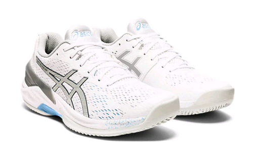 Asics (1052A024.102) Women's Sky Elite FF White Blue Volleyball Shoe