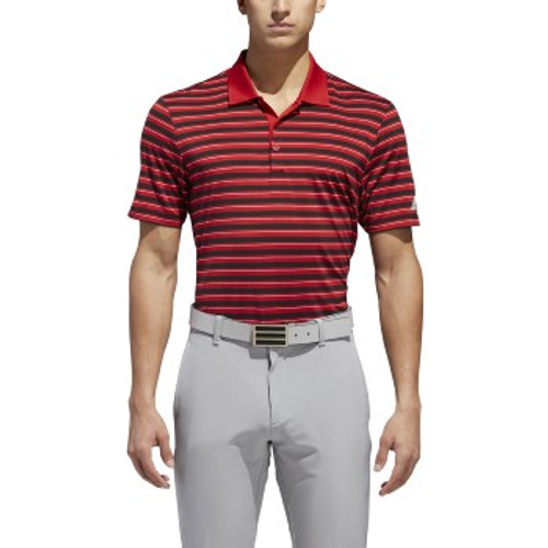 Adidas ULT 365 Men's POLO 3 STRIP POWER RED