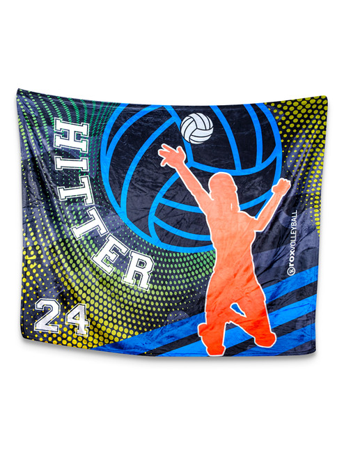 Hitter Blanket Customized With Your Number