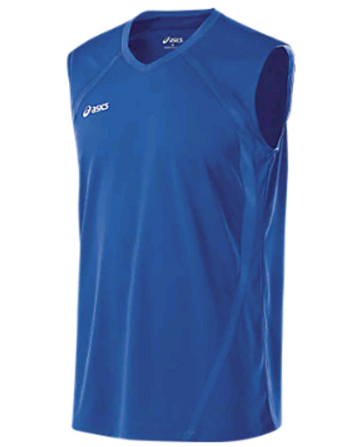 Asics Mens (BT1728.43) Tyson Sleeveless Shirt ROYAL