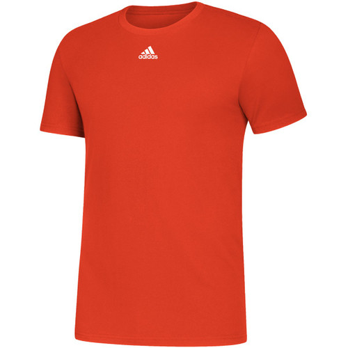Adidas Mens Volleyball Amplifier SS Jersey COLLEGIATE ORANGE WHITE EK0161