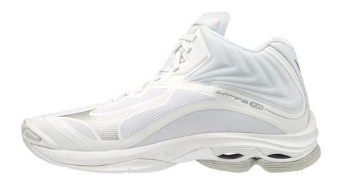 Mizuno 430284.000 Womens Wave Lightning Z6 Volleyball Shoe White