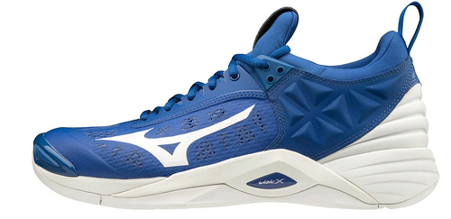 Mizuno 430261.TB00 Men's Wave Momentum Volleyball Shoe True Blue