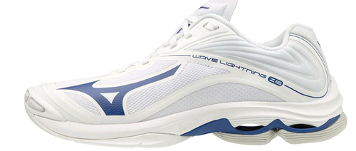 Mizuno 430281.0051 Mens Wave Lightning Z6 Volleyball Shoe White Navy