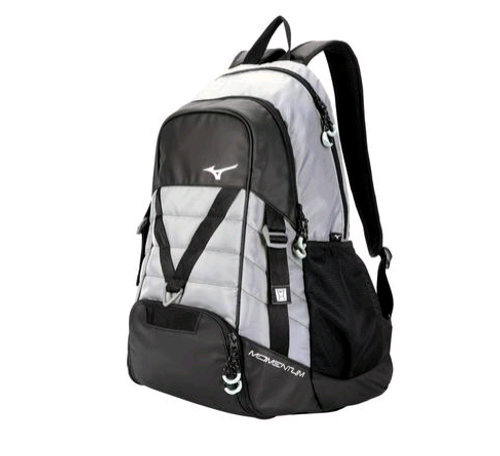 Mizuno 470173 Momentum Backpack WHITE 0000