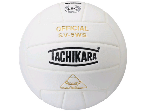 Tachikara SV5WS Volleyball NFHS WHITE