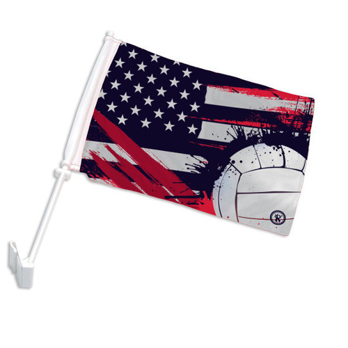 Rox American VB Car Flag