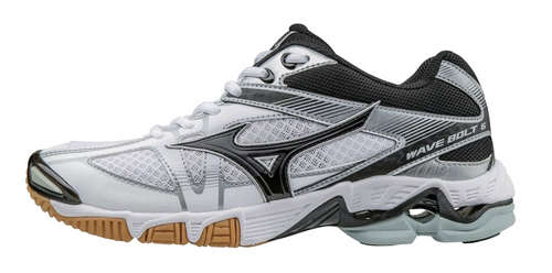 Mizuno Bolt 6 430224.0090 White Black Silver