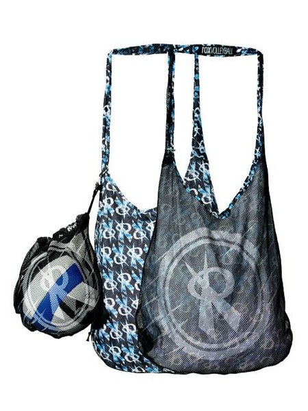 Rox Volleyball Sand Sifter Beach Bag, Reversible Beach Bag, Rox Volleyball 3136