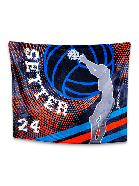 Setter Blanket Customized With Your Number