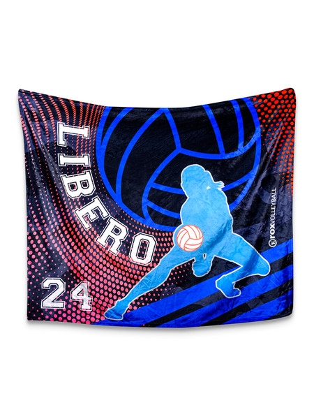 Libero Blanket Customized With Your Number