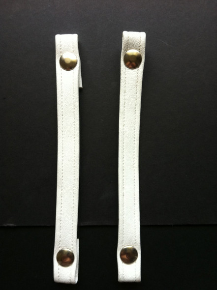 Set of seat straps with snaps