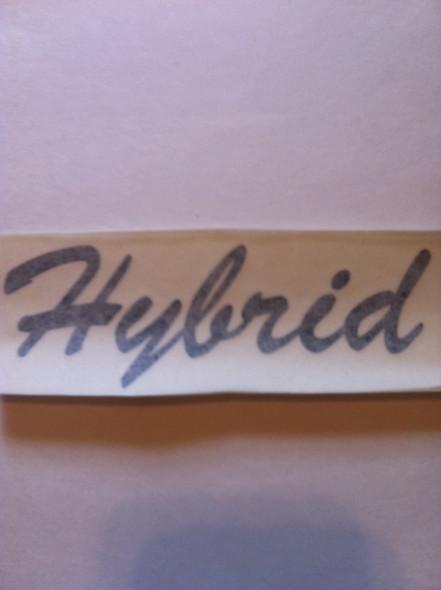 Hybrid Decal Pair