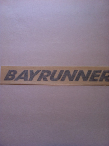 Bayrunner Decal Pair