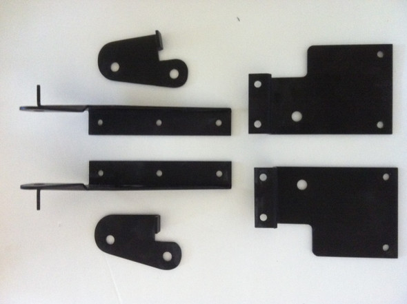 Seat Brackets, hinges, left & right side 6piece.