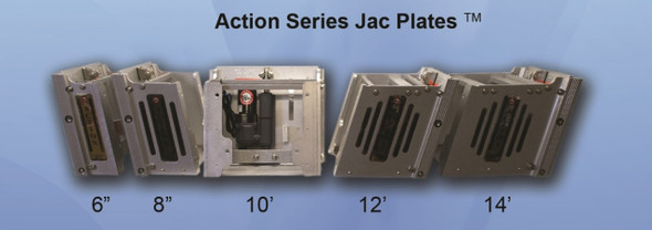 """Bobs Action Jack Series 6"""" Jack Plate watch Product Videos below Watch Product Videos below. Notice 3-4 weeks for delivery"""