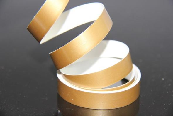 "1"" Gold Hull Stripes 50'"