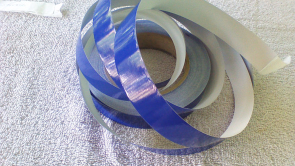 "1-1/2"" Saphire Blue Hull Striping 40' Length"