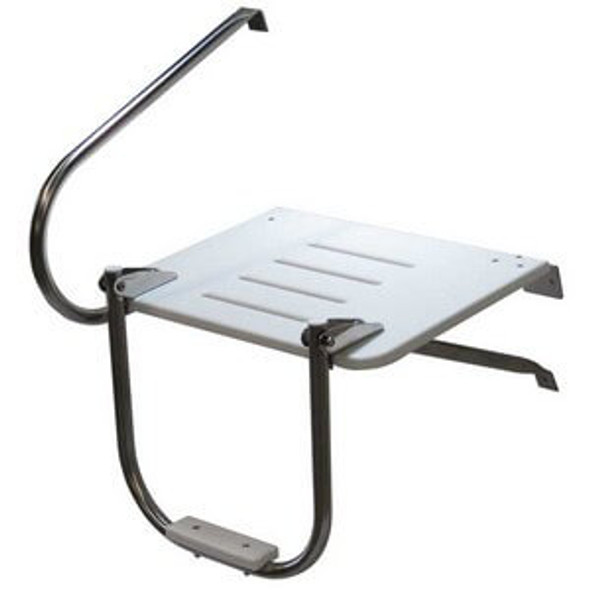 Outboard ladder