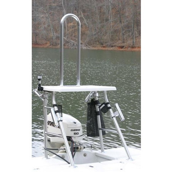 "Grab bar 36"" in Height mount on poling platform or deck"