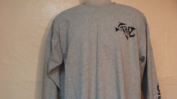 Long Sleeve cotton shirt  with Action Craft logo down the arm