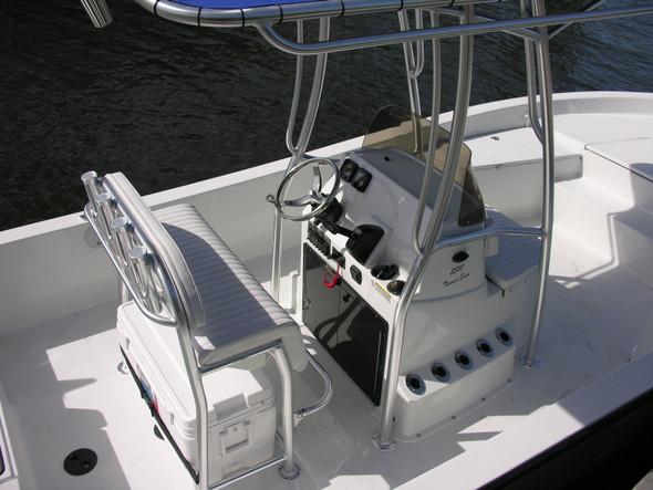 "Coastal Bay leaning post bottom cushion 37"" wide"