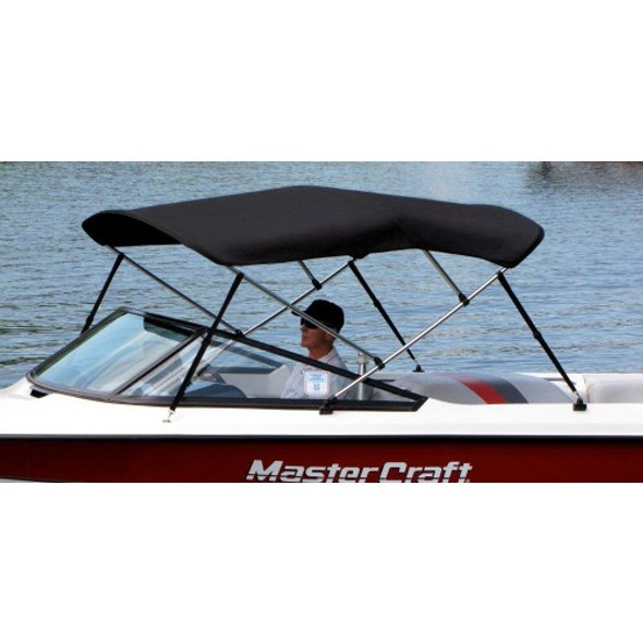 Bimini top sunbrella with stainless steel fittings