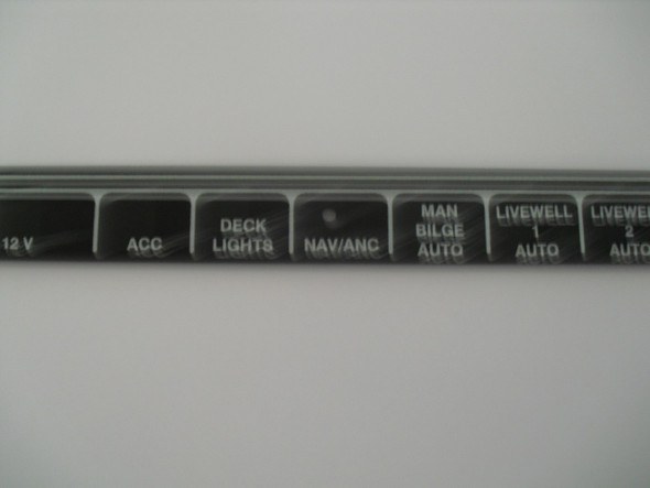 Nomenclature Plates for switch panel
