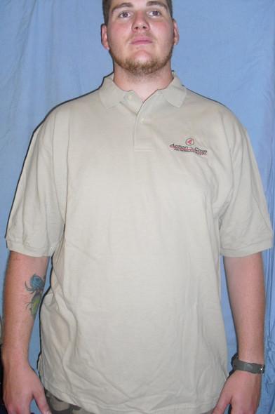 Action Craft Polo Tan short sleeve