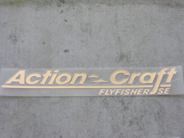 Action Craft raised decal pair