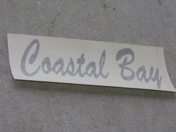 Small Coastal Bay decal pair