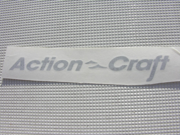 "Action Craft Decal pair 12"" X 1"""