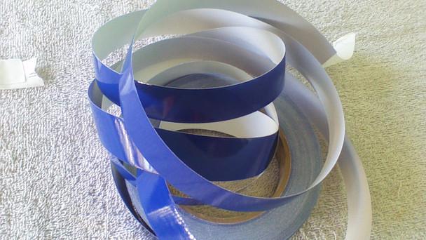 "3/4""  Saphire Blue Hull Stripes 30' length"