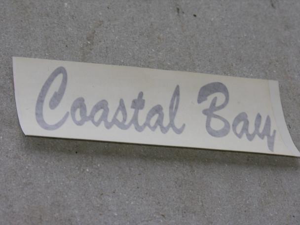 Small Coastal Bay decal pair